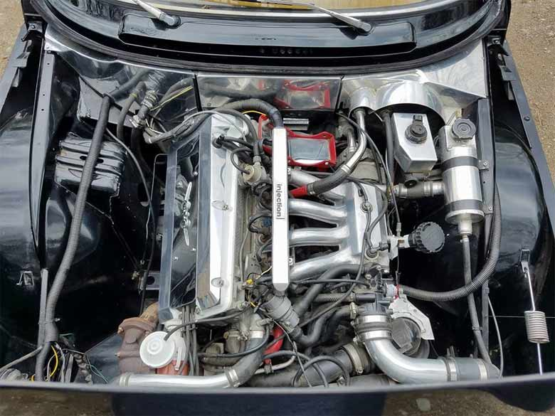 Saab 99 SPG Engine