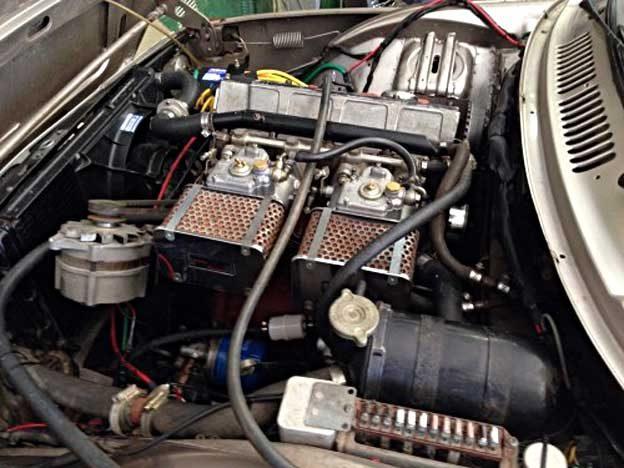 Saab 99 Weslake engine