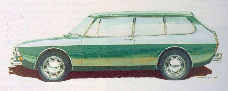 Saab 99 Wagon