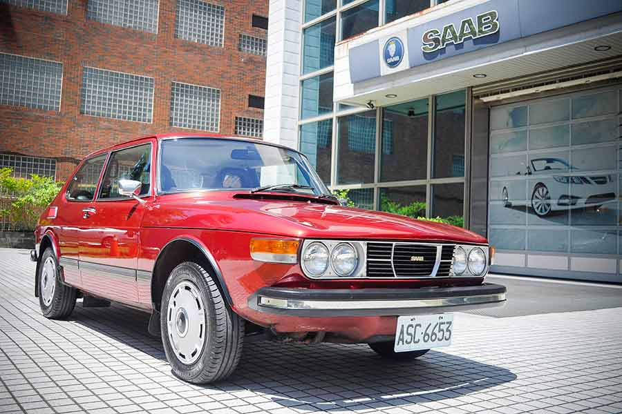Saab 99 after restoration