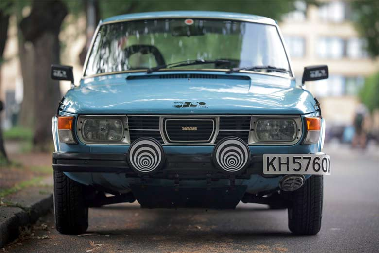 "Perfect Saab 99 EMS ""RALLY"""