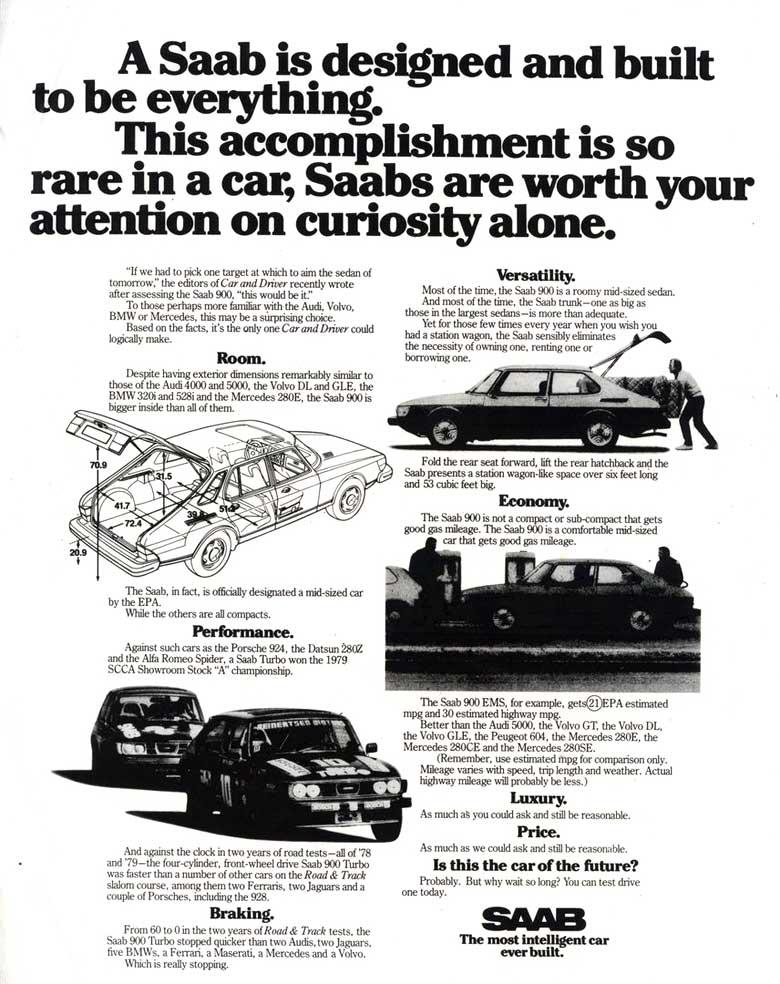 Saab Advertising