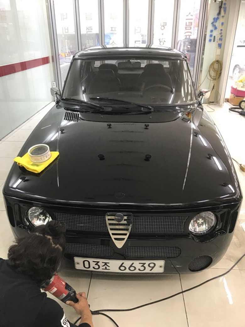 Saab Alfa BMW hybrid
