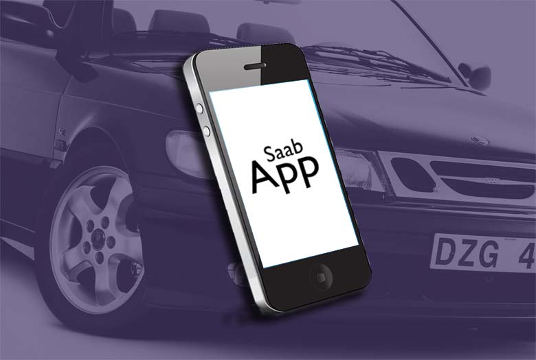 "New ""Saab App"" by Orio connects your phone with your car's Computer system"
