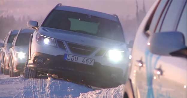 Saab Arctic Adventure with Alan Taylor