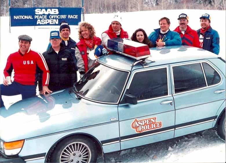Aspen Police Department Saab 900