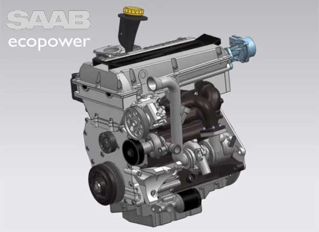Saab B235E engine