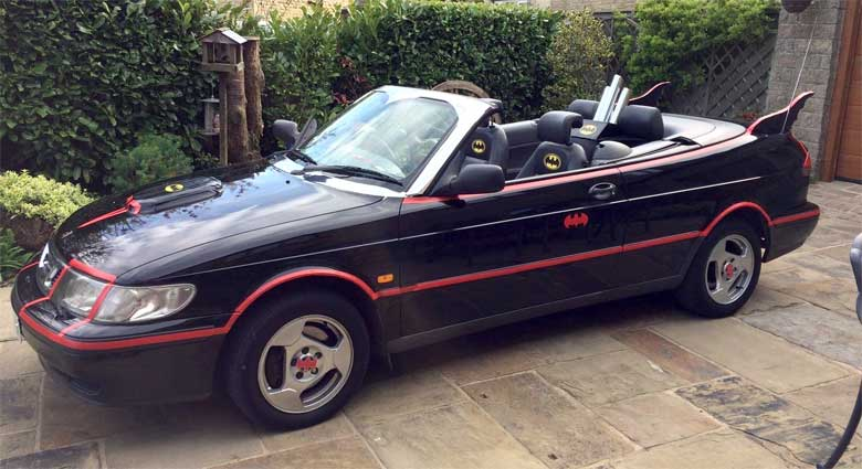 Saab in the service of Batman & Robin