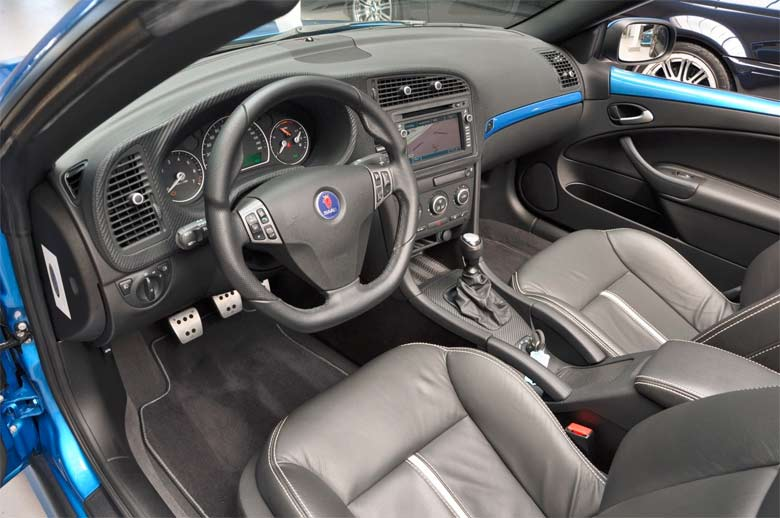 Saab Blue Sky Edition interior