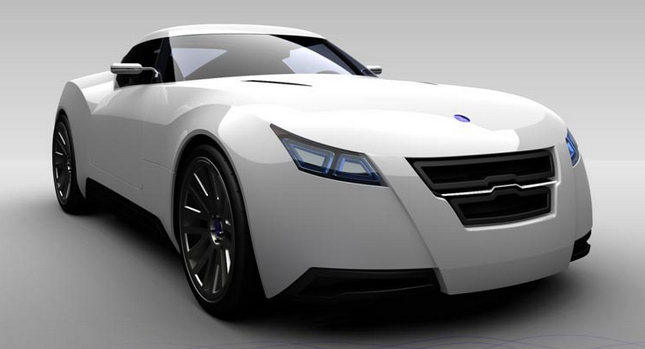 Saab Bóreas Sports Coupe Design Study by Jorge Martí Vidal