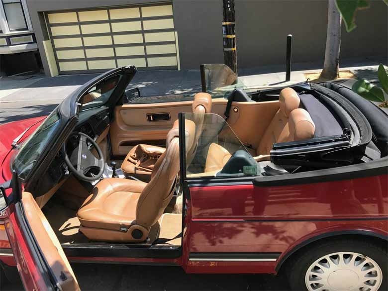 1987 Saab 900 Turbo convertible (90k original miles)