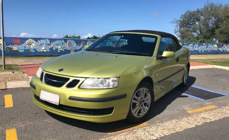 Pre-loved Saab for sale