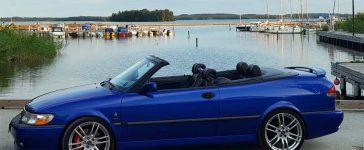 Saab Cabrio Challenge in Sweden
