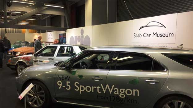 Saab Car Museum at Automässan 2017 in Gothenburg