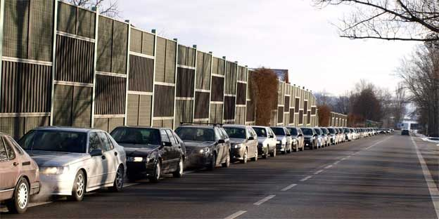 Formed a Saab convoy