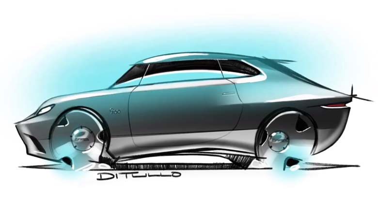 Saab Coupe Sketch