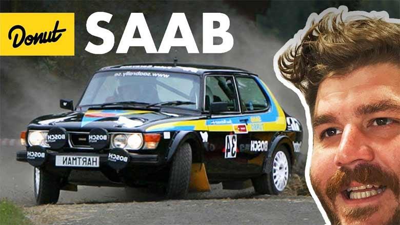 Saab History by Donut