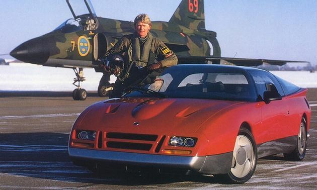 Back to the Future - SAAB EV- prototype