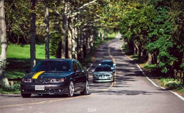 Saab Fans Ride