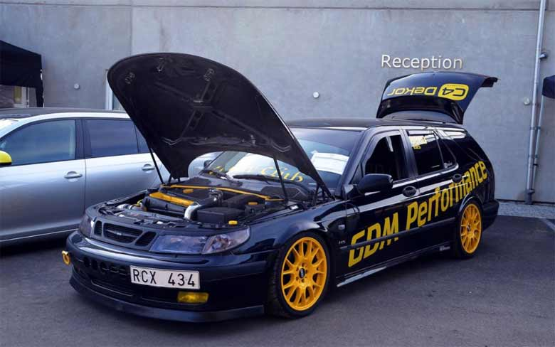 Saab tuned by GDM Performance