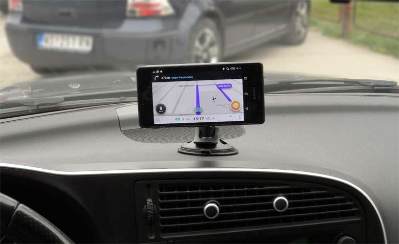Saab GPS navigation