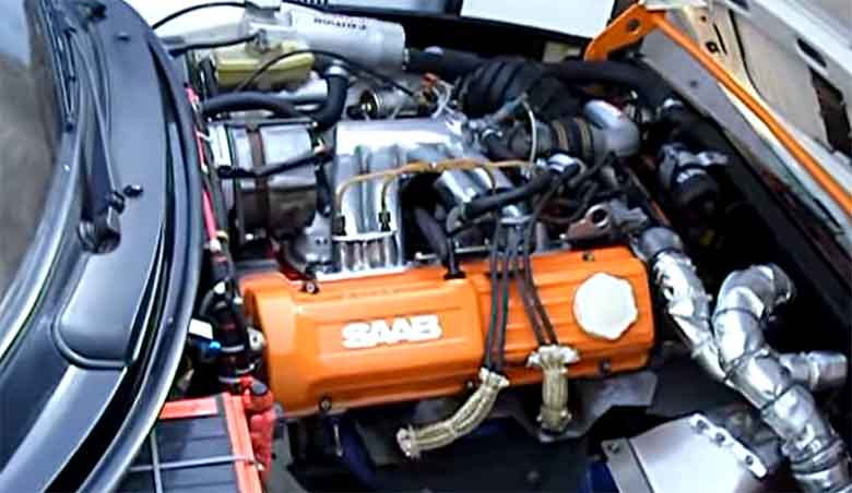 Saab H engine in 99 Turbo