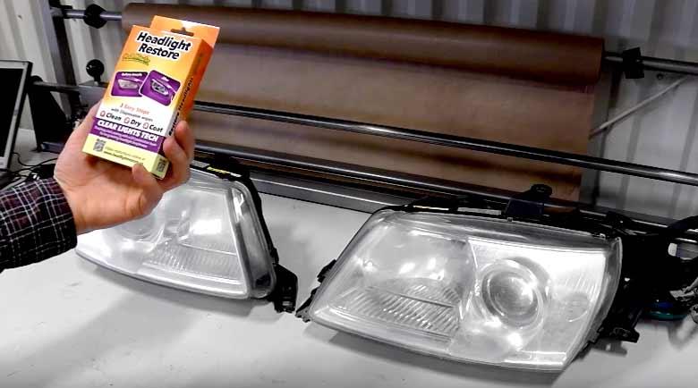 Saab Headlight Restore
