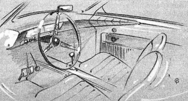 Saab Interior designed by Charles Pelly