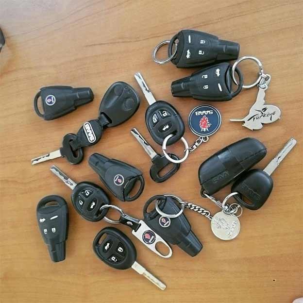 Saab-Keys