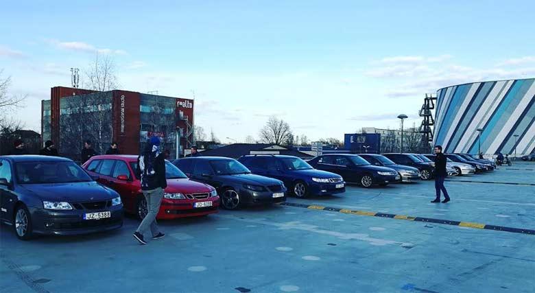 Saab Gang Latvia