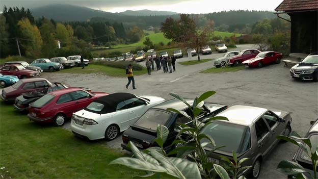 Saab Meeting in Bavarian Forest