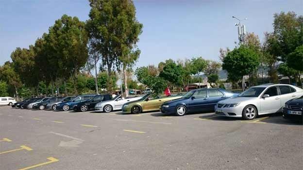 Saab Meeting in Turkey