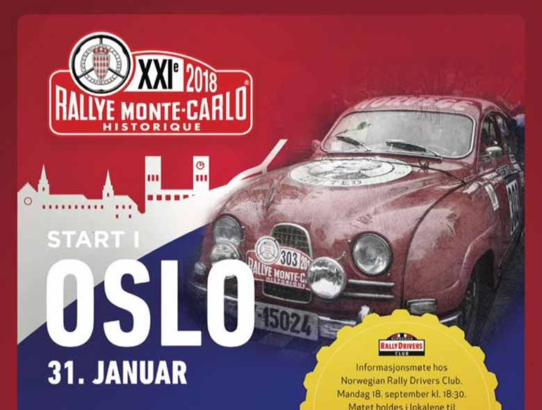 Saab 96 Sport in Monte Carlo Rally