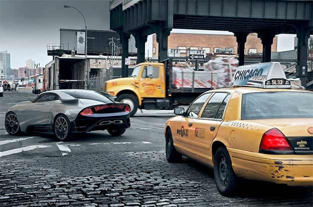 Saab PhoeniX in New York