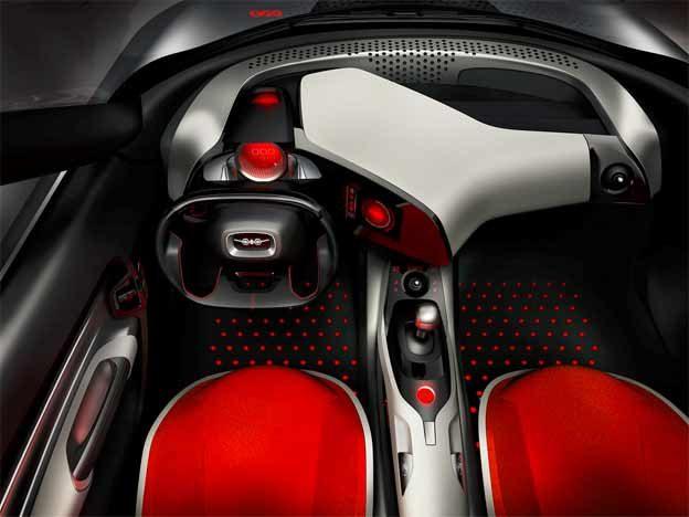 Saab Phoenix concept interior