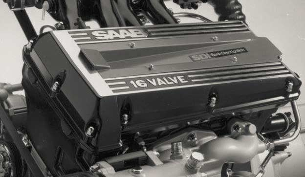 Saab B202 engine with Saab Direct Ignition module
