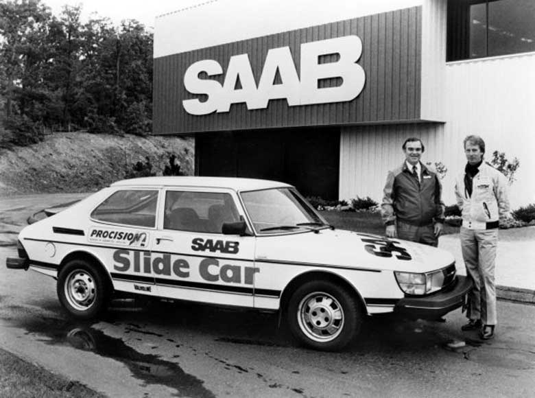 Saab SLide car
