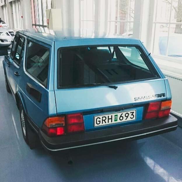 1981 Saab Safari