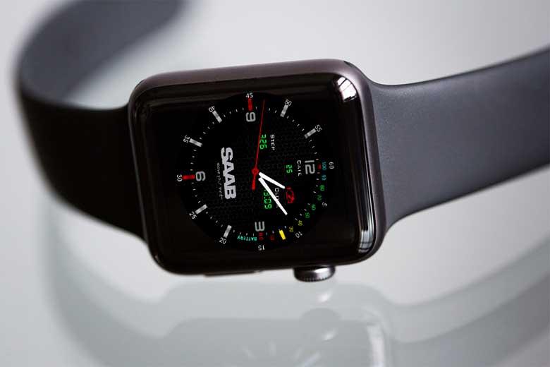 Saab Smartwach watchface