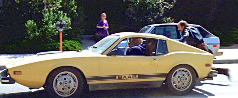 "Saab Sonett 3 in movie ""Sudden Impact"""