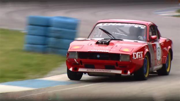 Racing Saab Sonett III