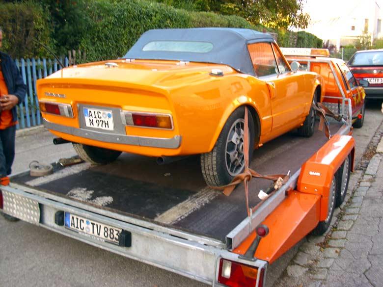 Saab Sonett II Cabrio