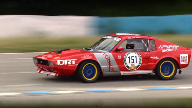 Paulo Sousa in Saab Sonett III race car
