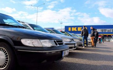 Saab Support Convoy 11th Anniversary Brno