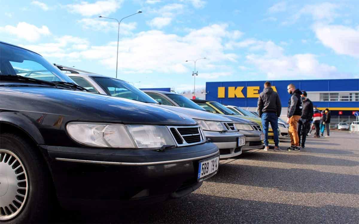 Saab Support Convoy 11th Anniversary Brno