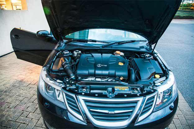 Saab TTiD Engine