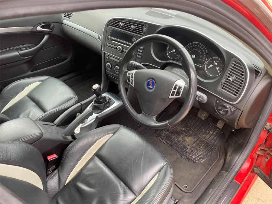 Saab TTiD Interior