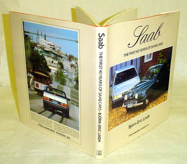 "Book: ""Saab - The First 40 Years Of Saab Cars"" (1987)"