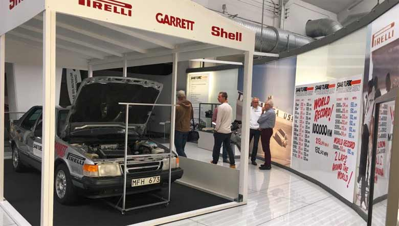 Saab Turbo In The Long Run exhibition