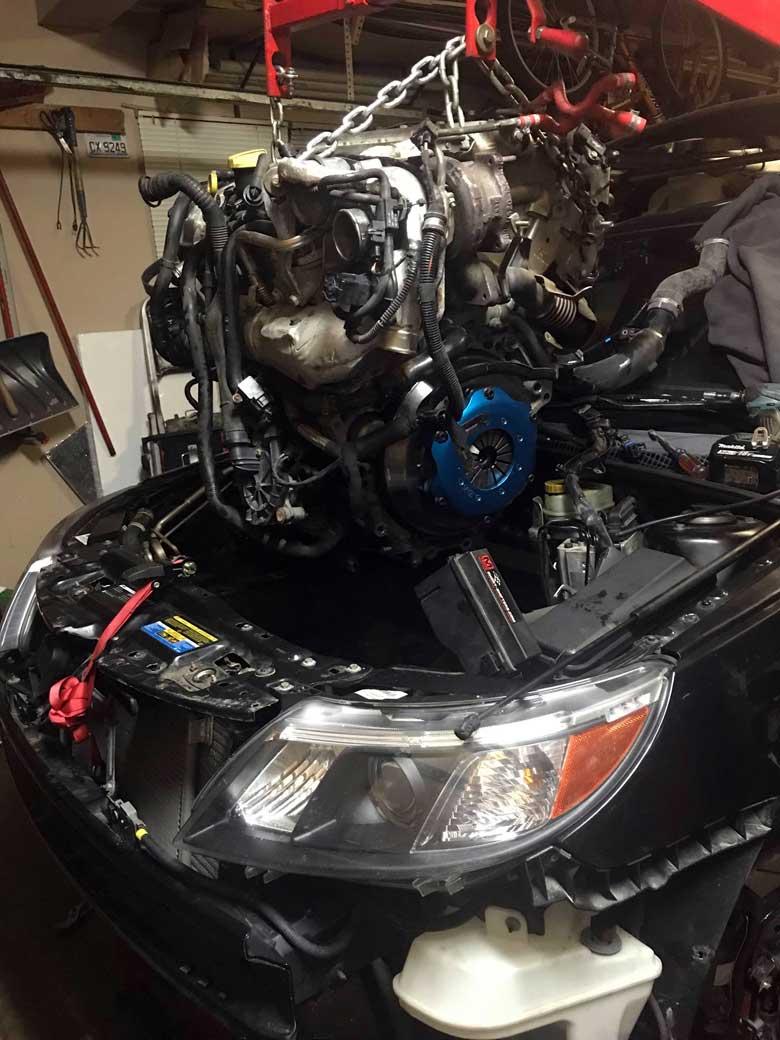 Saab Turbo X engine